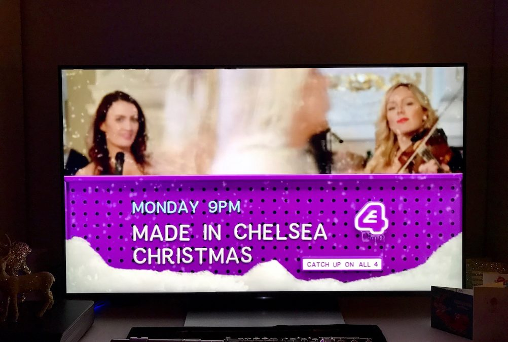 Licence to Ceilidh Play on Made in Chelsea for the 2nd time!
