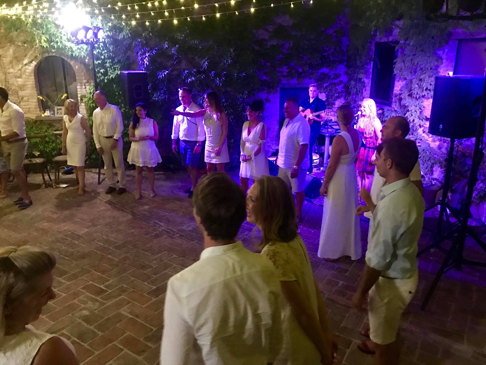 Italy Wedding Ceilidh Covers Band Destination Abroad