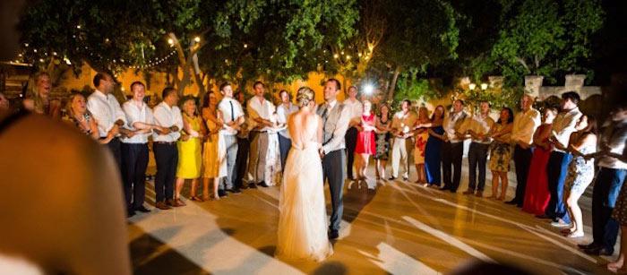 Destination Wedding Abroad Malta Ceilidh Band