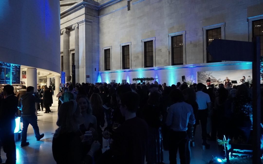 LTC play at British Museum Christmas Party