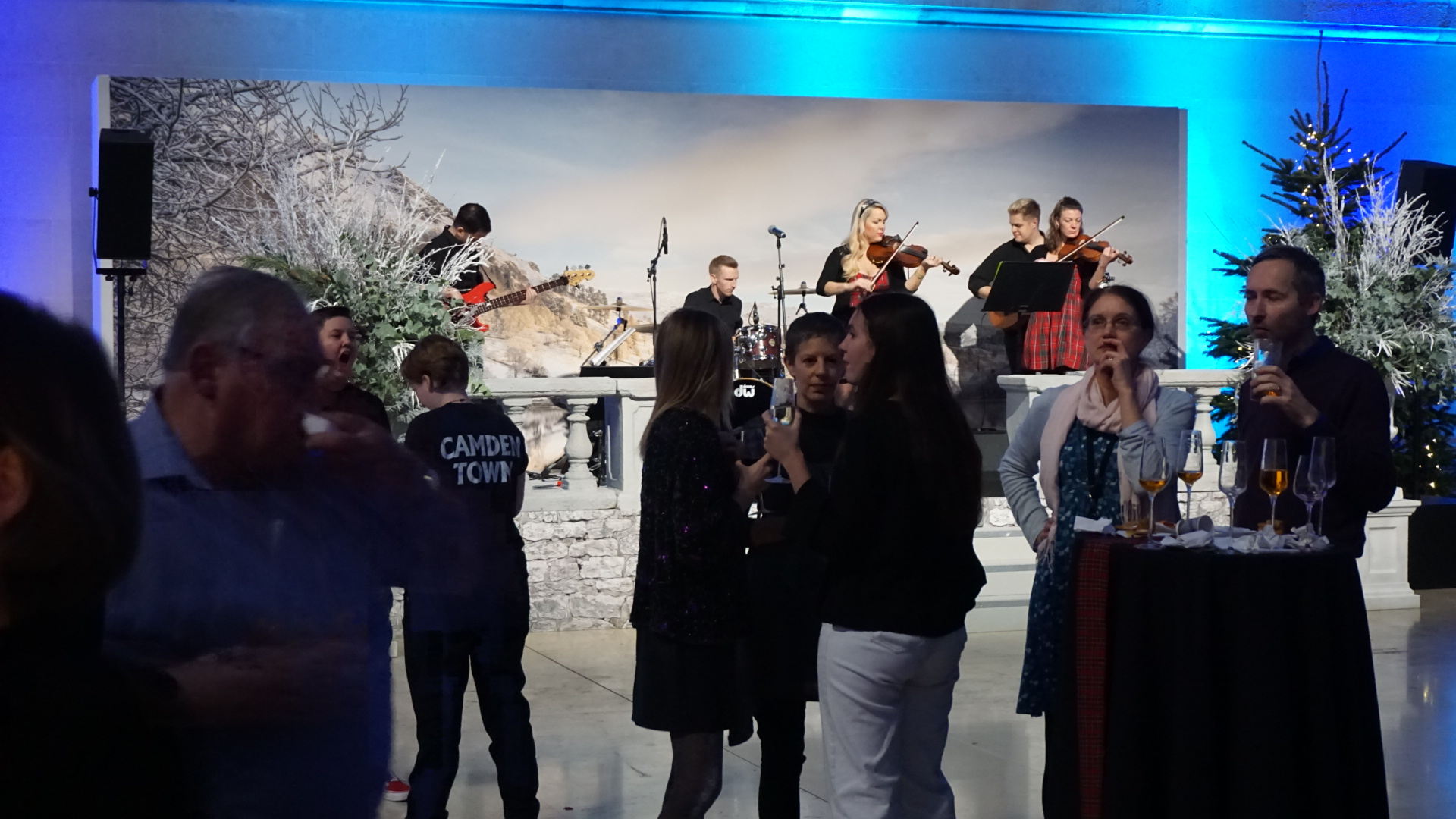 LTC play at British Museum Christmas Party Licence To Ceilidh